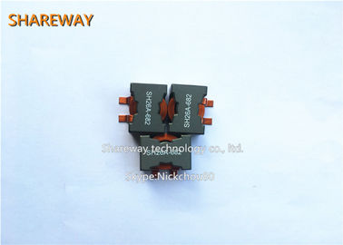 3.3uH Flat Wire Winding Common Mode Choke 27.9 X 27.9 X 17.8 Mm For PCB